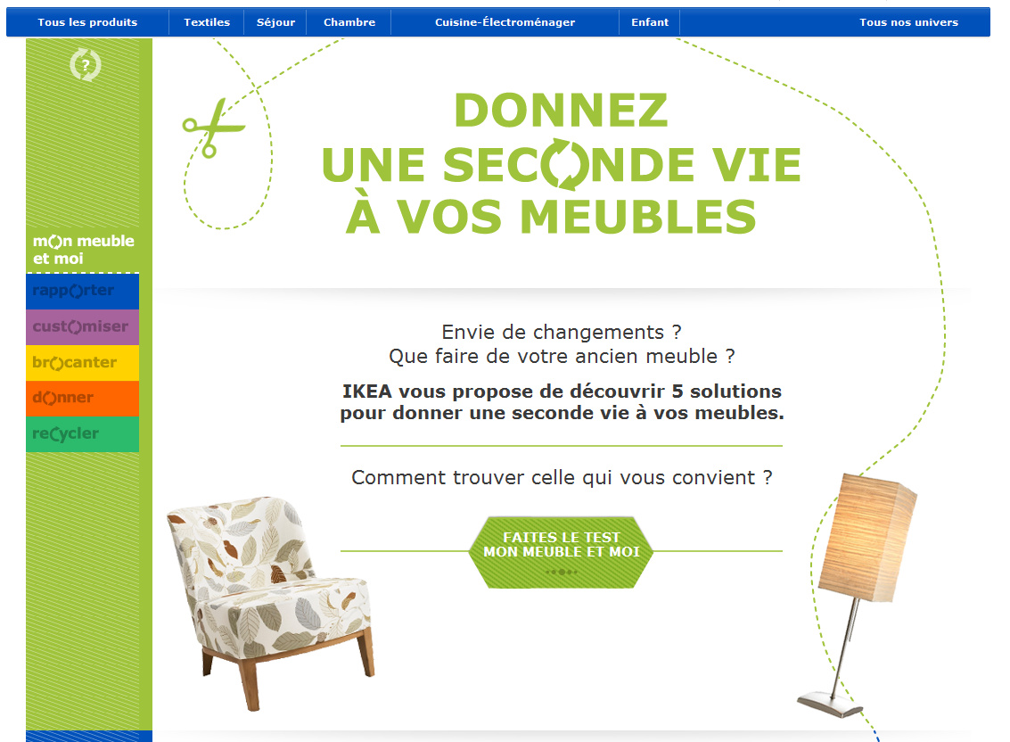tu vas chez ikea donnez une seconde vie vos meubles avec ikea. Black Bedroom Furniture Sets. Home Design Ideas
