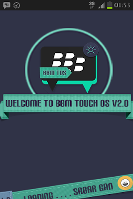 BBM MOD Dual Tema Touch OS V2 2015, bbm mod 2015