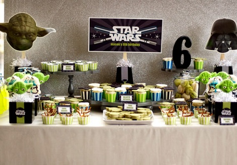 Fiesta infantil star wars birthday party ideas for Decoracion star wars
