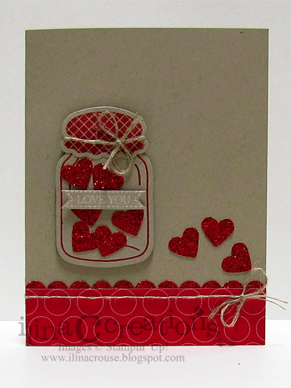 Creativity Within Sectioned Pop Up Heart Cannery Card