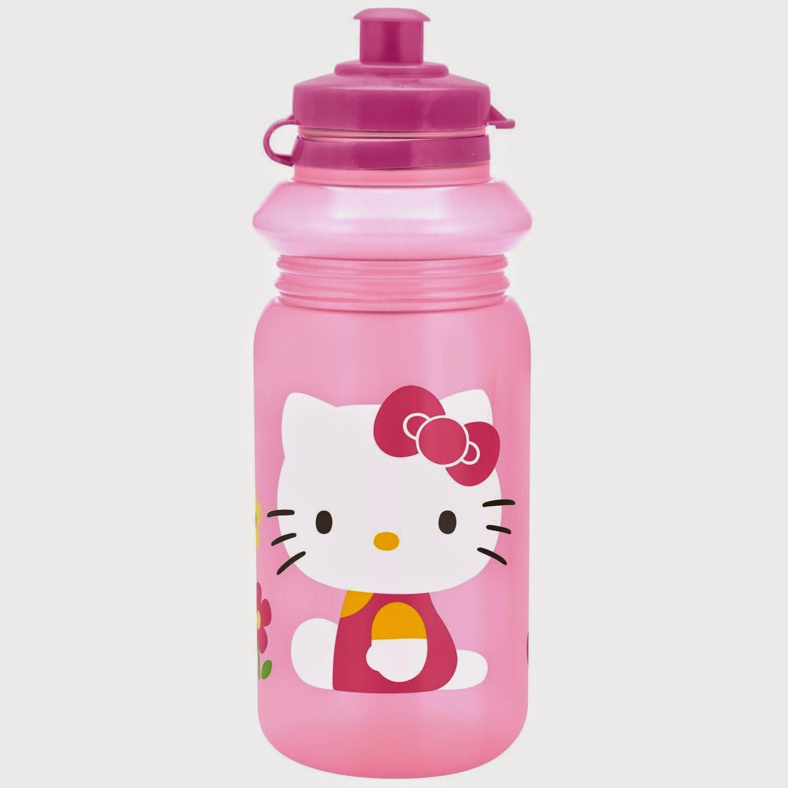 Gambar botol minum hello kitty untuk anak