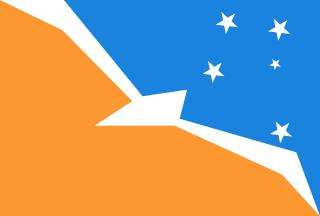 Bandera de Islas Malvinas Argentina