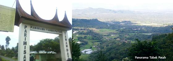 panorama tabek patah lanscape