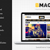 BMAG Magazine Responsive Blogger Template