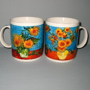 Order Vincent Van Gogh Mugs of the Sunflower Paintings