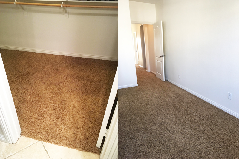 lowe's carpet installation review and before and after