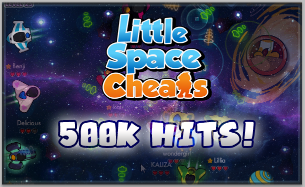 little space cheats 500k hits giveaway picture