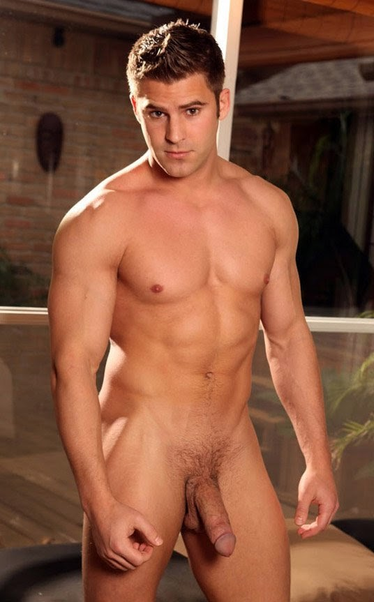 muscular model hot naked men