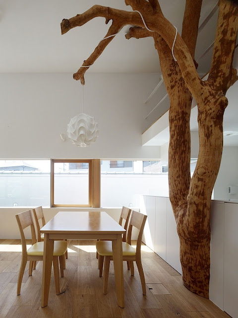 Hausbau mit Kindheitsträumen - hol den Garten ins Haus!