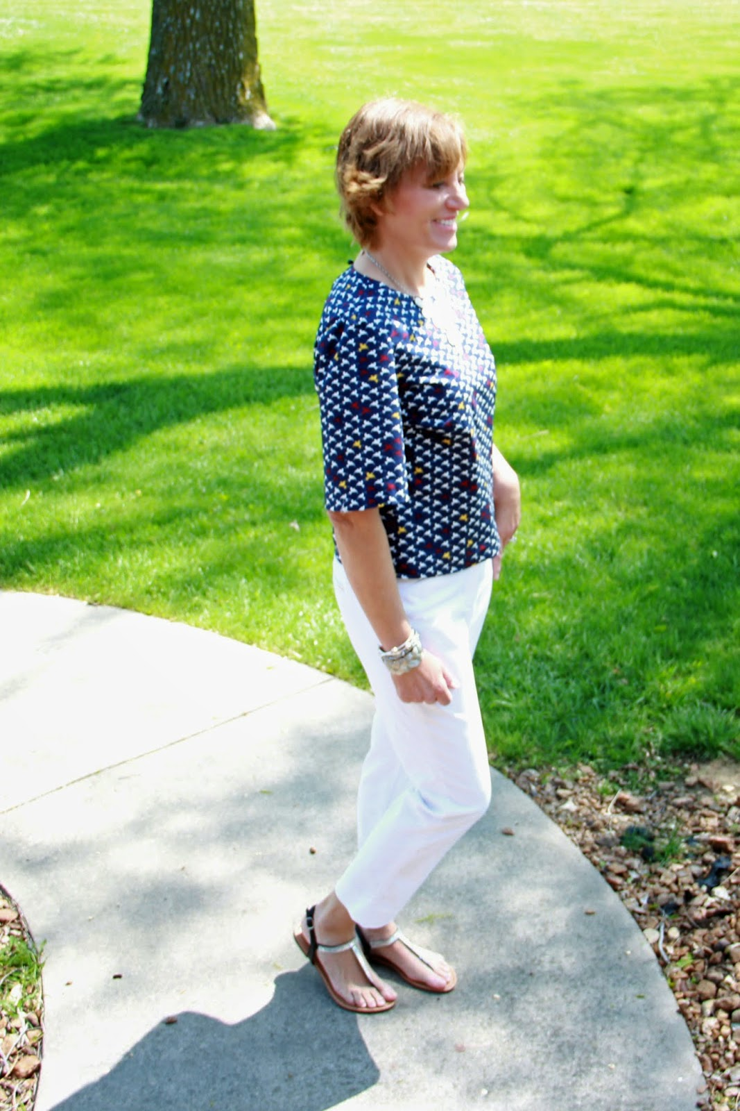 Boxy top for spring 2015 from Butterick 6175