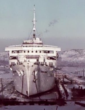 Le  Wilhelm   Gustloff  ...  photo  ...