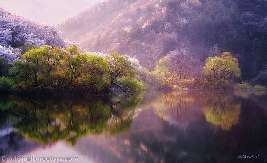 Mindblowing Reflected Nature Landscapes Captured by Jaewoon U