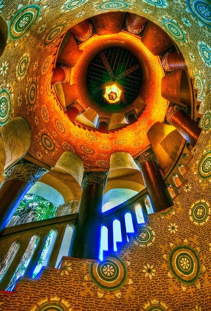 stairs in Santa barbara California photo by Neil Kremer