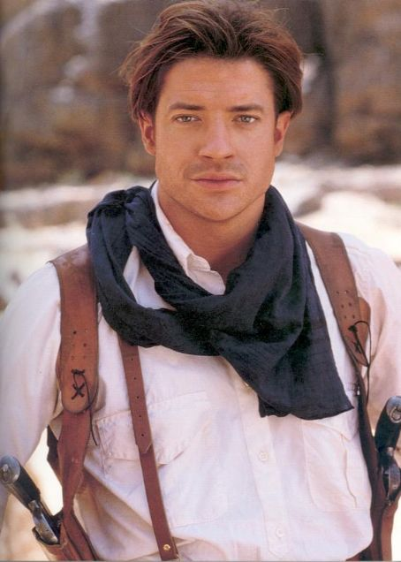 Young Brendan Fraser The Mummy All Top Hollywood Cele...