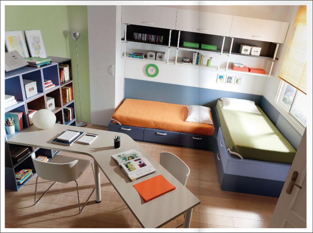 Habitaci n juvenil espacio mobiliario e interiorismo for Mobiliario habitacion juvenil