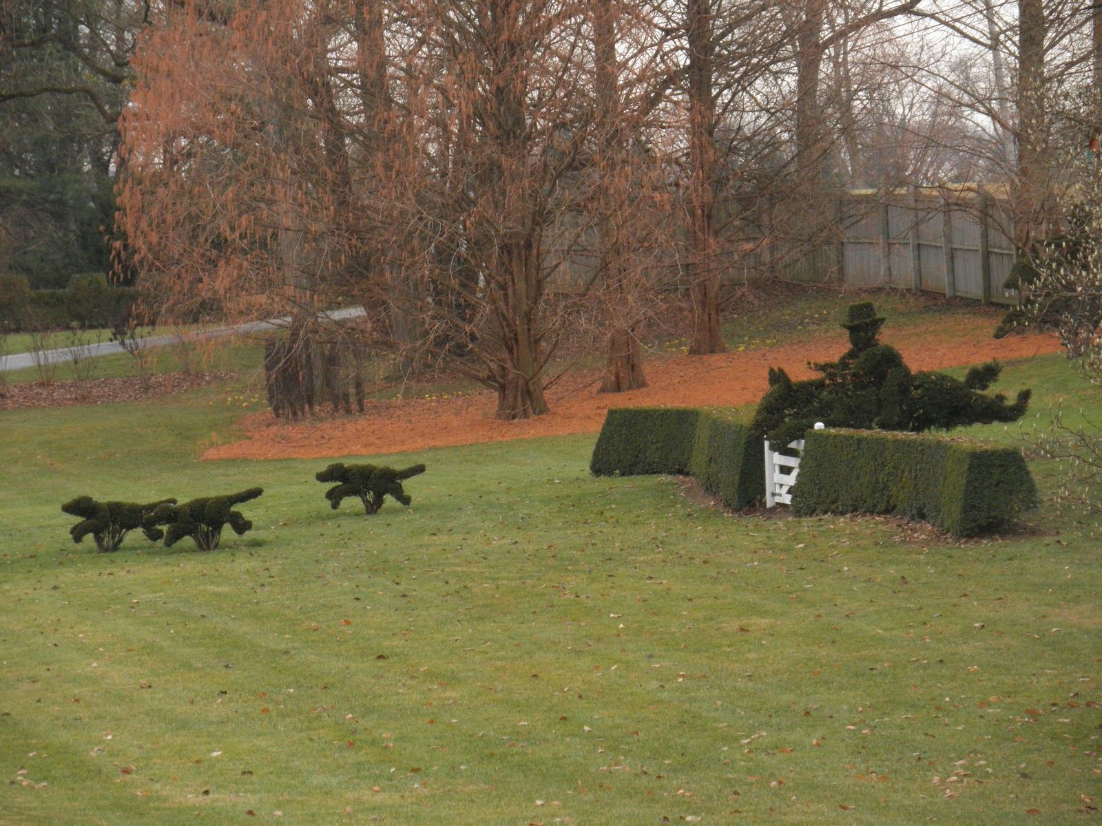 LIFE IN SKUNK HOLLOW: A Magical Christmas at Ladew Gardens