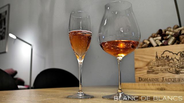 Riedel Vinum Cuvée Prestige ja Veritas New World Pinot Noir - www.blancdeblancs.fi