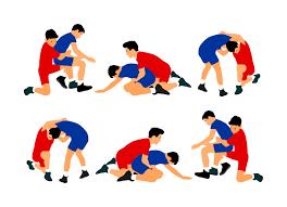 As lutas nos Jogos Olimpicos