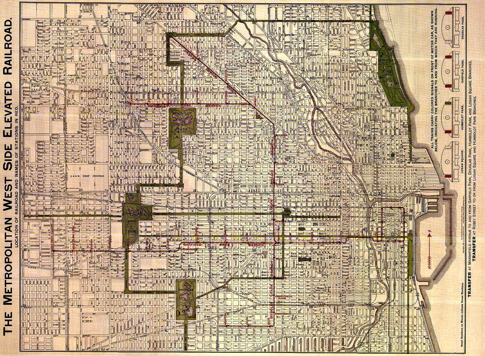 LakeView Historical Chronicles The Missing Link Diversey - Chicago map northwest suburbs