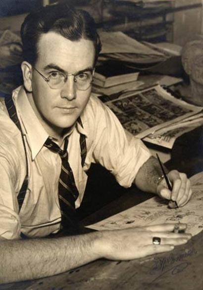 Artists at Work: Milton Caniff
