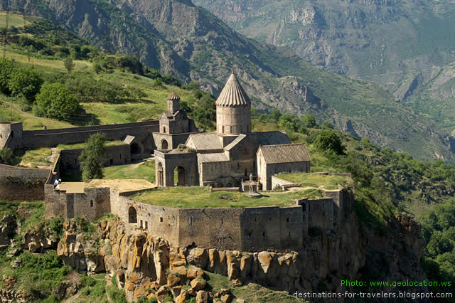 THE MONASTERY OF TATEV - SYUNIK - ARMENIA