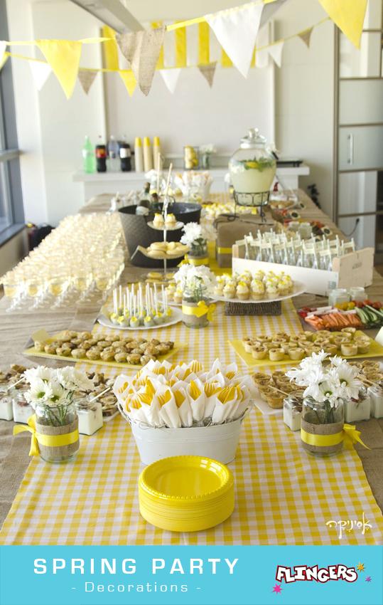 Flingers Party Shop Blog Spring Themes