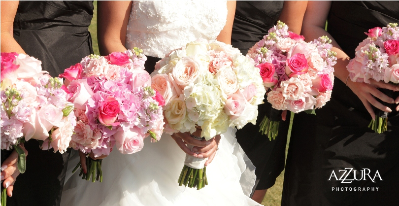 Flora Nova Design Blush Pink Wedding Flowers Garden Rose Bouquet Bridal