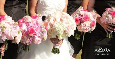Flora Nova Design, blush pink wedding flowers, pink garden rose bouquet, bridal flowers