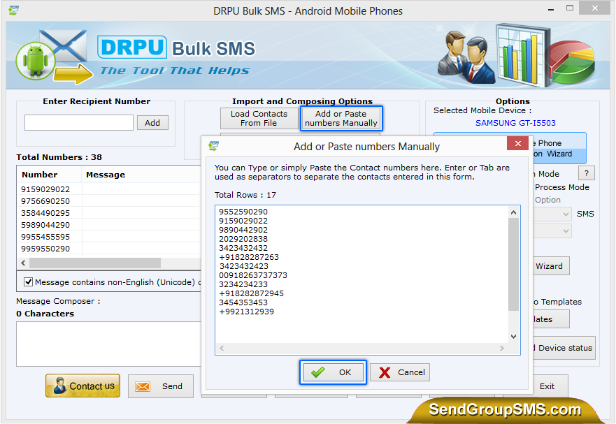 how to send bulk text messages from computer free