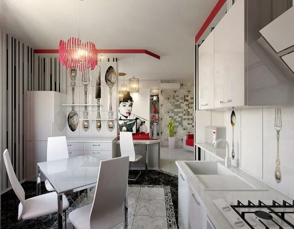 Appartement Design Pour Le Jeune Homme Et De Femme