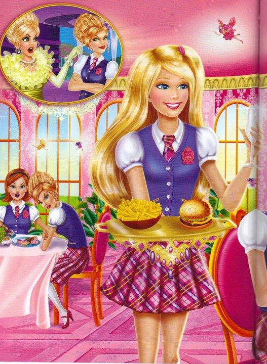Barbie escuela de princesas dvd - Imagui