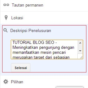 Tutorial Blog SEO