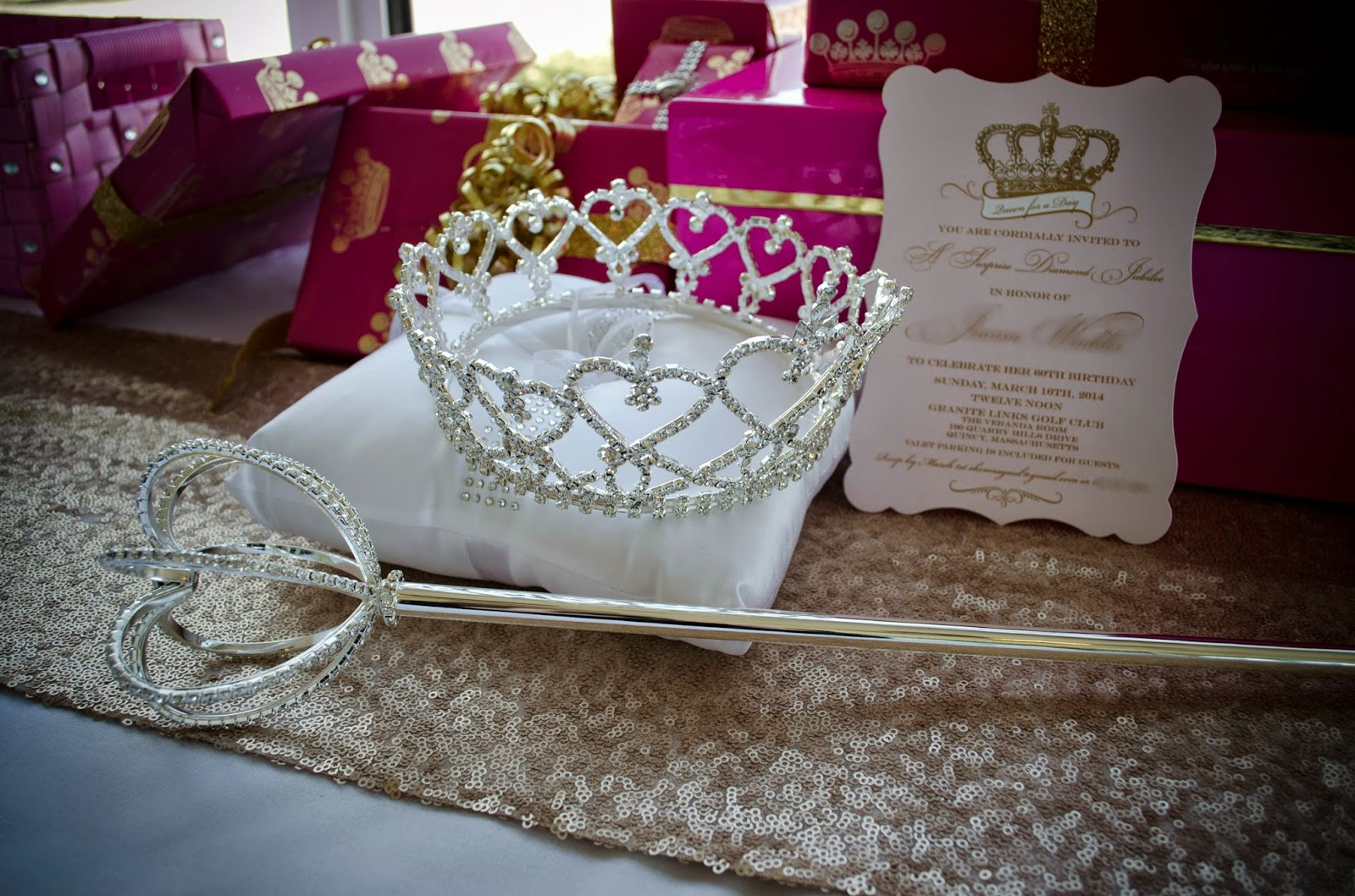 events that sparkle queen for a day royal birthday party. Black Bedroom Furniture Sets. Home Design Ideas