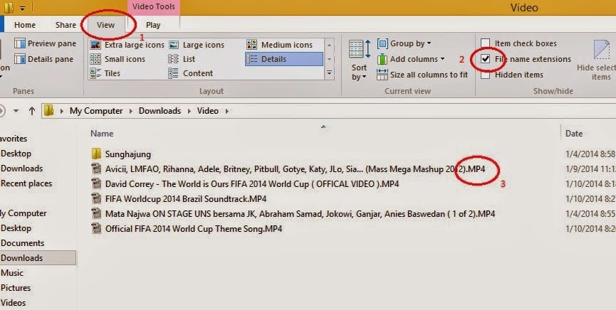 Pada Windows 8