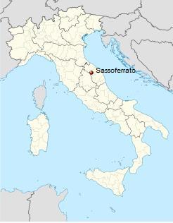 Το Σασοφεράτο της Ιταλίας.