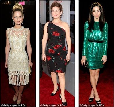 Gasteyer And Whitney Cummings Had Put Their Best Fashion Foot Forward