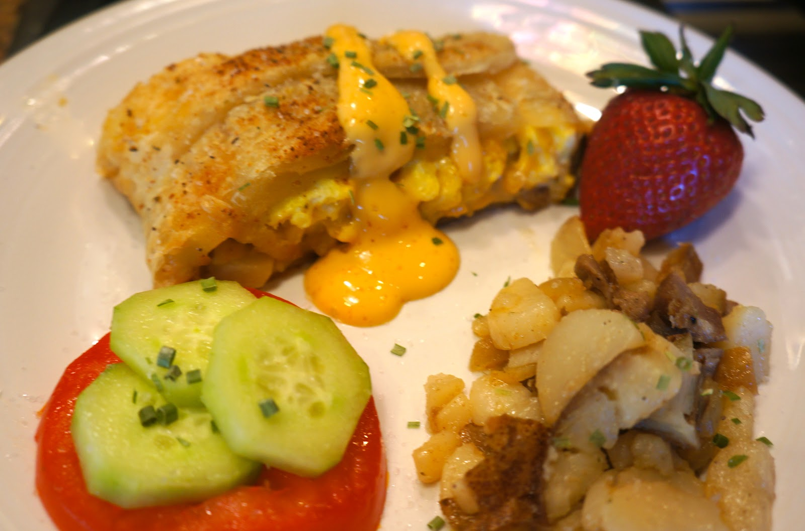 Pine creek style breakfast stromboli