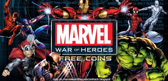 Marvel war of heroes hack