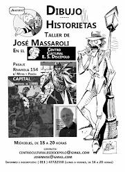 Taller de DIBUJO-HISTORIETA, con José Massaroli