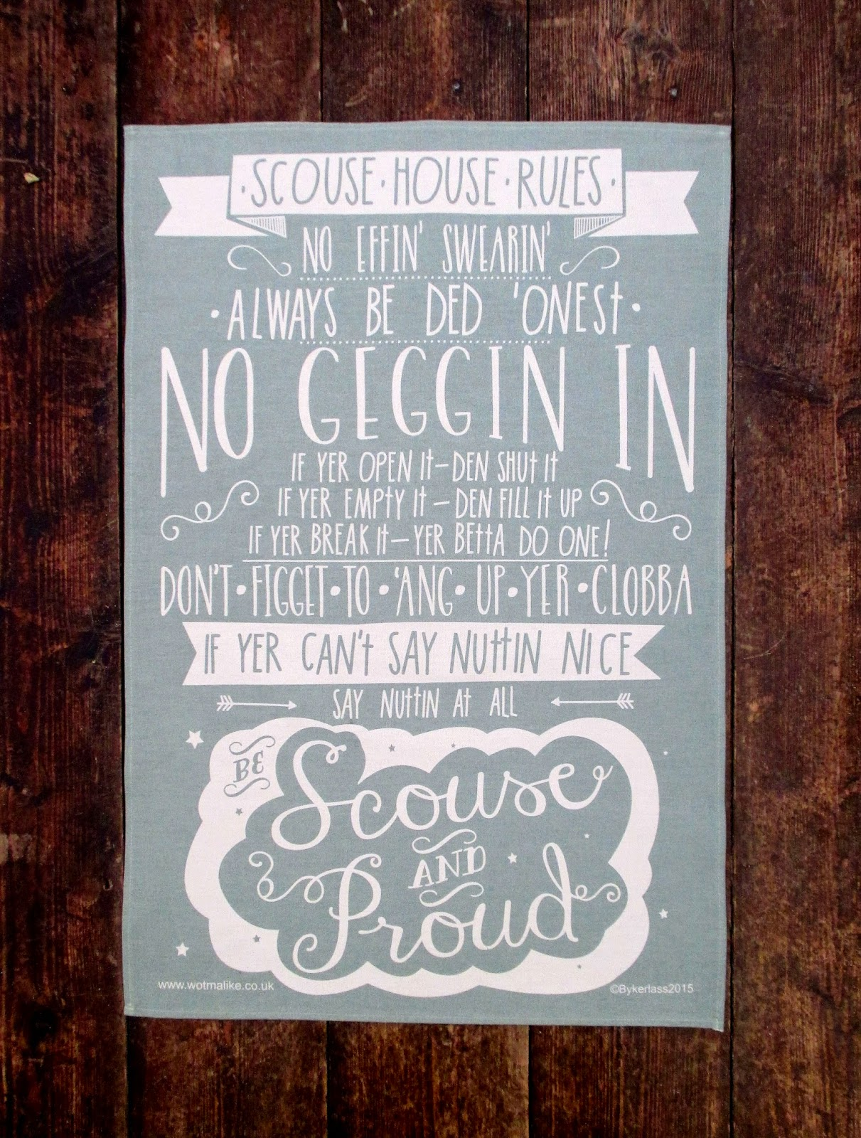 Scouse House Rules By Wotmalike