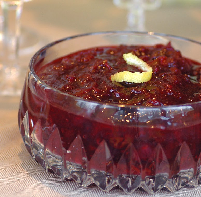 Cranberry and Dried Cherry Relish