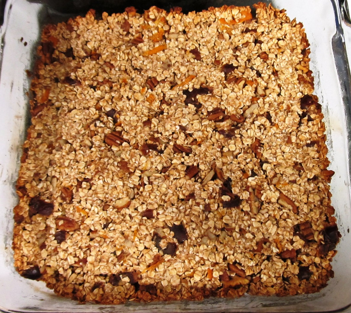 Debbi Does Dinner... Healthy & Low Calorie: Orange Pecan Granola Bars
