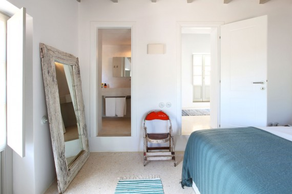 silla vintage dormitorio