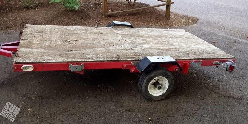 My free folding trailer