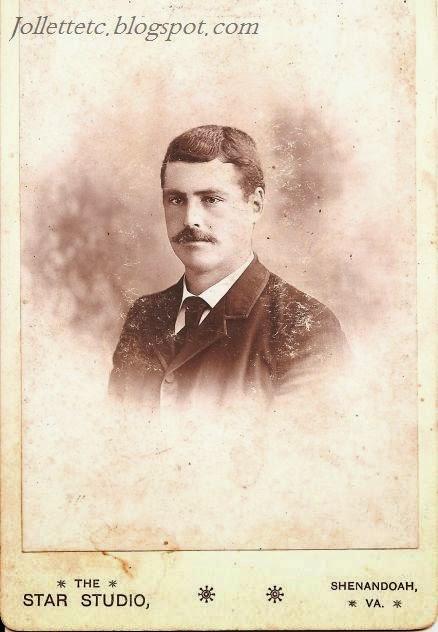 Walter B. Davis 1867 - 1934 Shenandoah, Virginia http://jollettetc.blogspot.com
