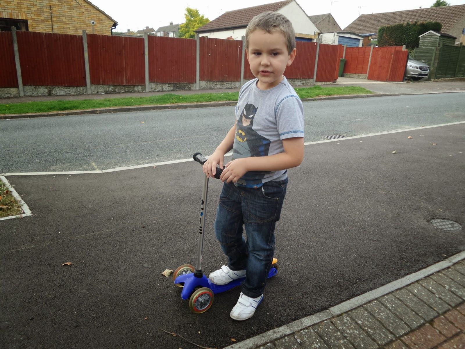 BB on his Scooter