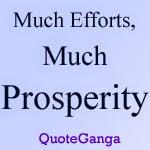 Effort Prosperity