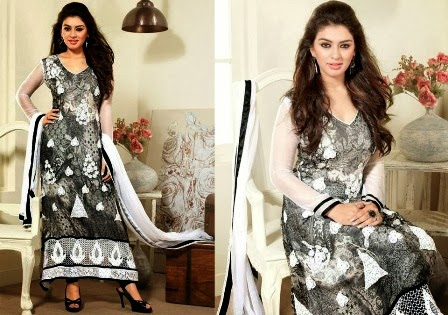 Black Salwar Kameez Suit