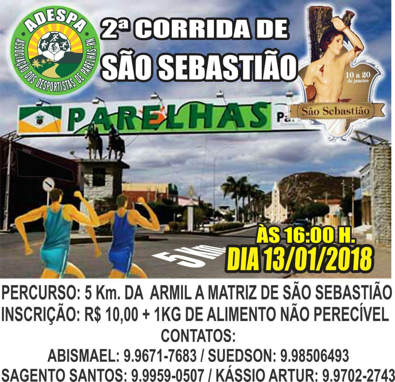 CORRIDA SÃO SEBASTIÃO