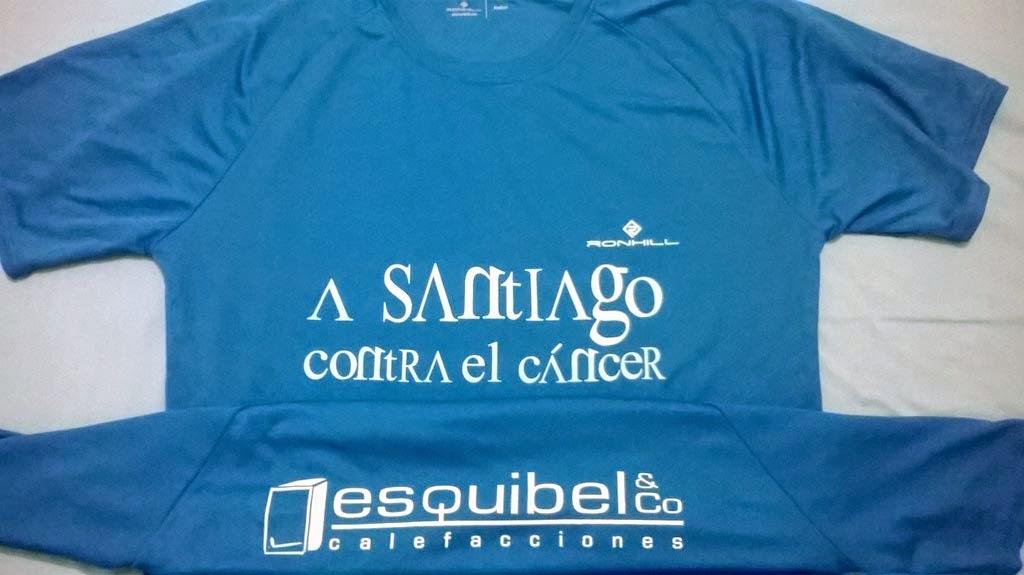 camiseta a santiago contra el cancer